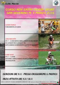 locandina corso new entry - hobby sport